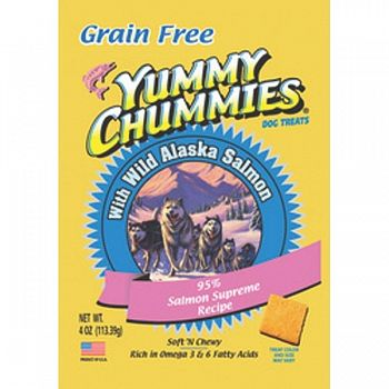 Yummy Chummies Gold 95% Salmon- Grain Free - 4 oz.