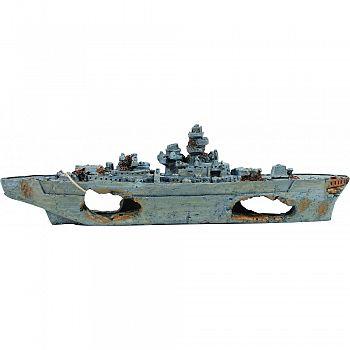 Sunken Battleship Ornament