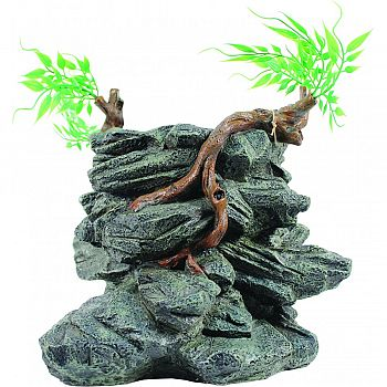 Drinking Fountain Rock Tower Ornament