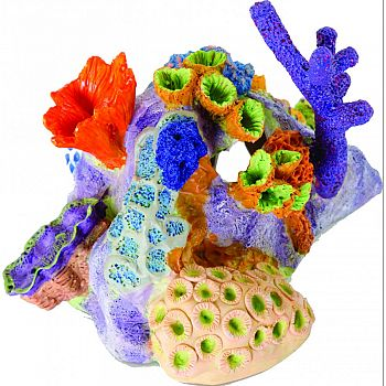 Pacific Reef Ornament MULTI COLORED 8X7X5.5 INCH