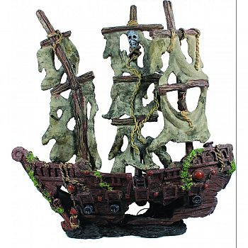 Mystery Pirate Ship Ornament