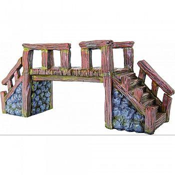 Wood Bridge Ornament LARGE