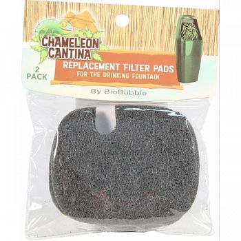 Drinking Fountain Replacement Carbon Filter Pad  2 PACK