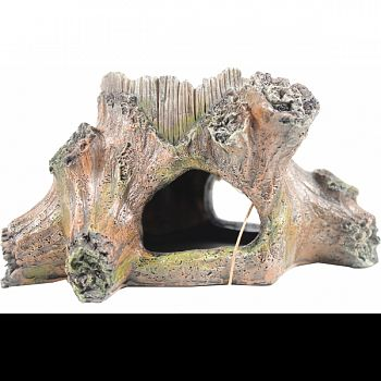 Stump Feeder With Hide Ornament