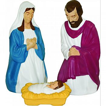 Nativity Set  3 PIECE/28 INCH