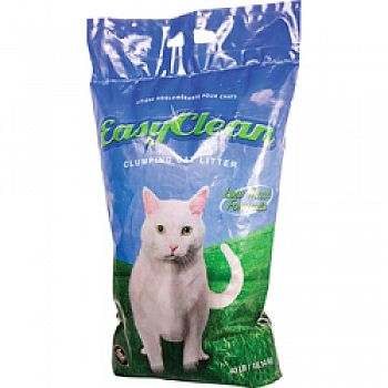 Easy Clean Clumping Cat Litter Low Track