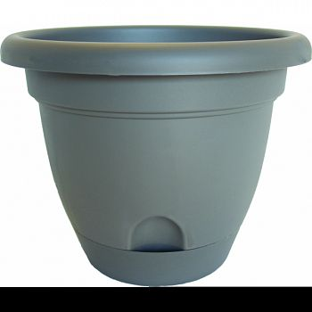 Lucca Planter PEPPERCORN 10 INCH (Case of 6)