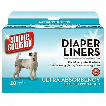 Simple Solution Large Diaper Garment Pads 10 count