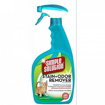 Cat Stain and Odor Remover Spray 32 oz