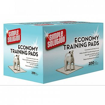 Economy Puppy Training Pads - 22x22 inches / 100 pk