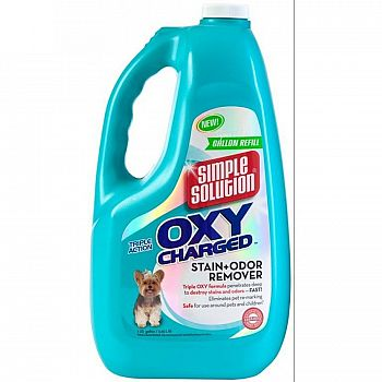 Simple Solution Oxy Charged Stain + Odor Remover - 1 gal.
