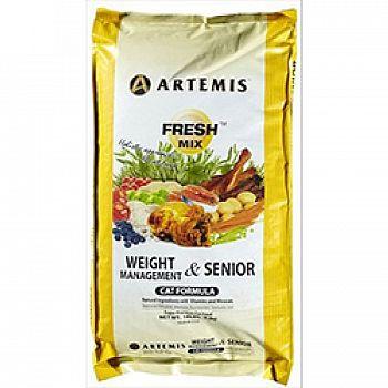 Fresh Mix Feline Weight Management Senior Formula
