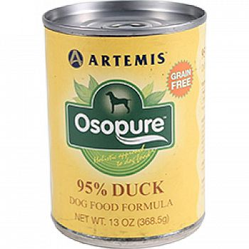 Osopure Grain Free Canned Dog Food (Case of 12)