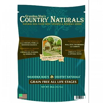 Grain Free Dog Food CHICKEN 4 LB