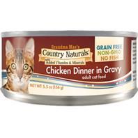 Grain Free Non-gmo Canned Cat Food In Gravy CHICKEN 5.5 OZ (Case of 24)