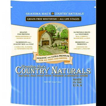 Grain Free Dog Food WHITEFISH 4 LB