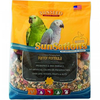 Sunsations Natural Parrot Formula  3.5 POUND