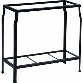 Angle Iron Stand BLACK 36X18 INCH
