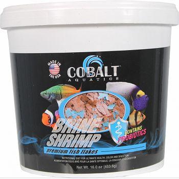 Premium Brine Shrimp Flakes  16 OUNCE