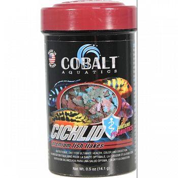 Premium Cichlid Flakes  .5 OUNCE