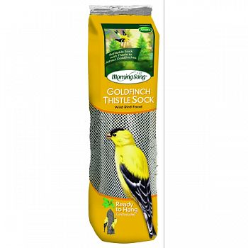 Morning Song Thistle Sock Wild Bird Food (Case of 10)