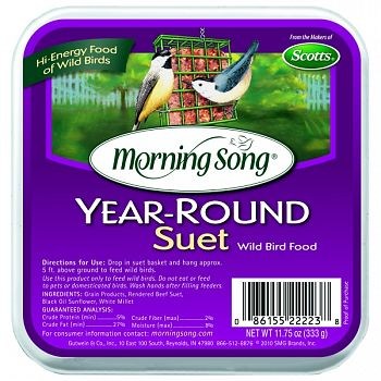 Morning Song Year-round Suet (Case of 12)