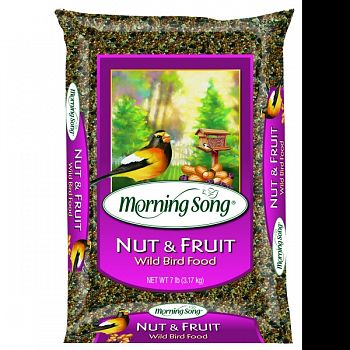 Morning Song Nut And Fruit Wild Bird Food (Case of 3)