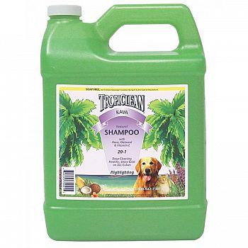 Tropiclean Kava Color Enhance Pet Shampoo 1 gallon
