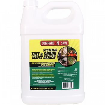 Compare N Save Systemic Tree And Shrub Drench  1 GALLON (Case of 4)