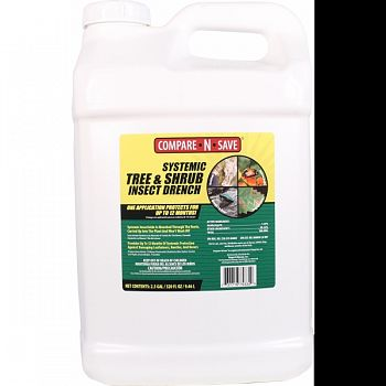 Compare N Save Systemic Tree And Shrub Drench  2.5 GALLON (Case of 2)