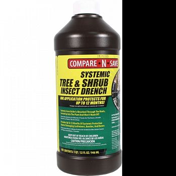 Compare N Save Systemic Tree And Shrub Drench  32 OUNCE (Case of 12)