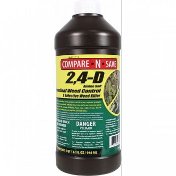Compare N Save 2,4d Amine Broadleaf Weed Killer  32 OUNCE (Case of 12)