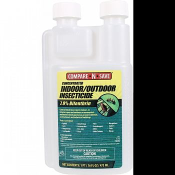 Compare N Save In/outdoor Insect Control CONCENTRATE 16 OUNCE (Case of 8)