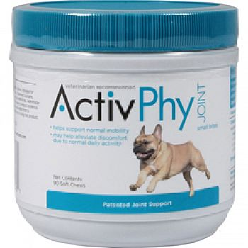 Activphy Joint Support Soft Chews For Dogs