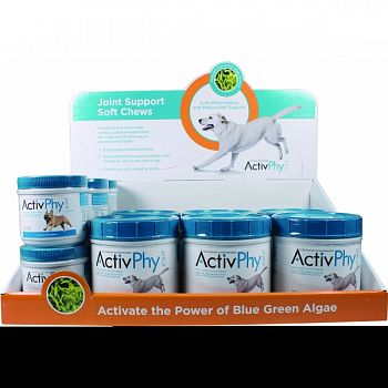 Activphy Soft Chews Joint Support For Dogs Display BEEF LIVER 12 PIECE