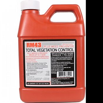Rm43 Total Vegetation Control  32 OUNCE (Case of 4)
