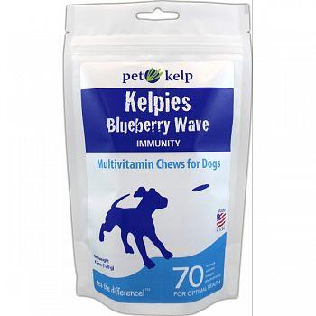 Kelpies Multivitamin Soft Chews Antioxidant BLUEBERRY 4.2 OUNCE