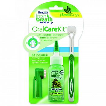 Fresh Breath Oral Care Kit - Small DOGS