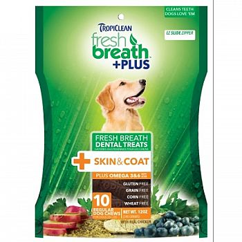 Fresh Breath Plus Dental Dog Treats