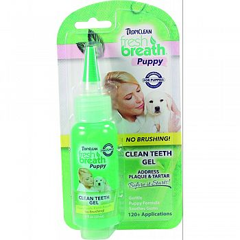 Fresh Breath Clean Teeth Gel For Puppies
