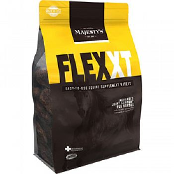 Majesty S Flex Plus Equine Supplement Wafers  30 DAY