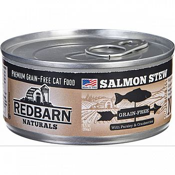 Redbarn Stew All Natural Cat Can SALMON 5.5 OZ (Case of 24)
