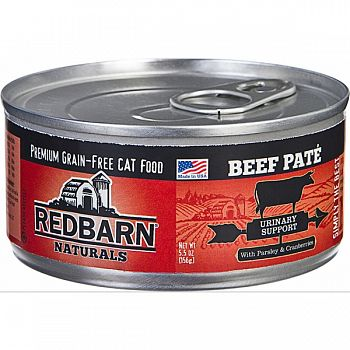 Redbarn Naturals Pate Cat Can - Urinary Care BEEF 5.5 OZ (Case of 24)