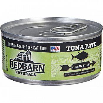Redbarn Naturals Pate Cat Can TUNA 5.5 OZ (Case of 24)