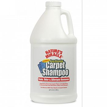 Natures Miracle Advanced Deep Cleaning Carpet Shampoo 64 oz