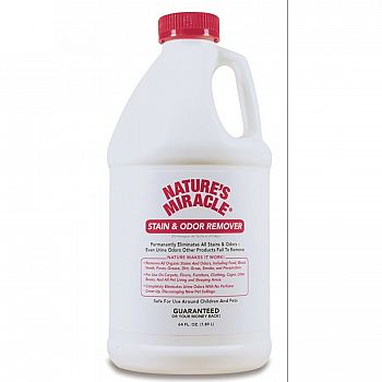 Natures Miracle Stain & Odor Remover - 64 oz.