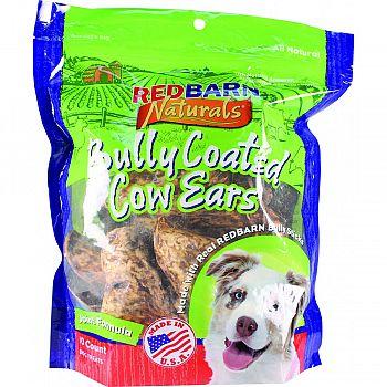 Natural Bully Cow Ear 10pk