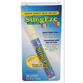 Stingeze For Kids Insect Bite Relief Dauber Pen - .5 oz.