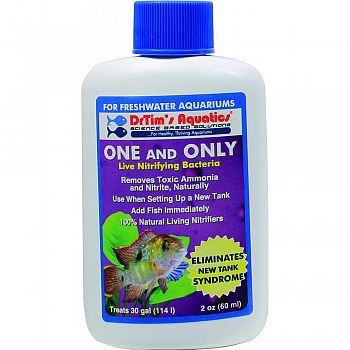 One And Only Freshwater Aquarium Solution  2 OUNCE