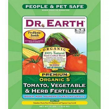 Organic Tomato/ Vegetable/ Herb Fertilizer - 4 lbs